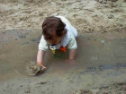 Wasserspielplatz Kind