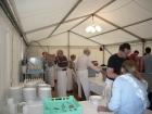 Helfer beim Gourmetfestival