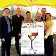 Zweites Winzerfestival im Vier-Jahreszeiten-Park